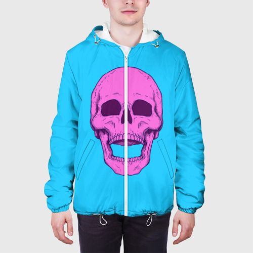 Мужская куртка 3D  Фото 04, Череп Skull