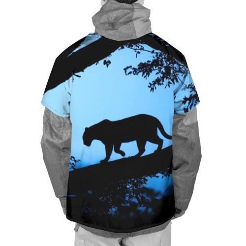 Накидка на куртку 3D  Фото 02, Чёрная пантера