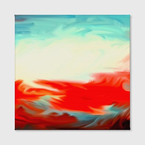 Холст квадратный  Фото 02, художественные краски