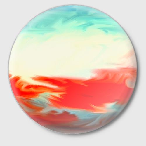Значок  Фото 01, художественные краски