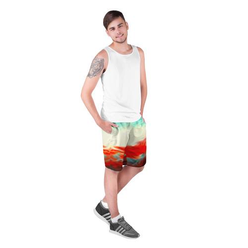 Мужские шорты 3D  Фото 03, художественные краски