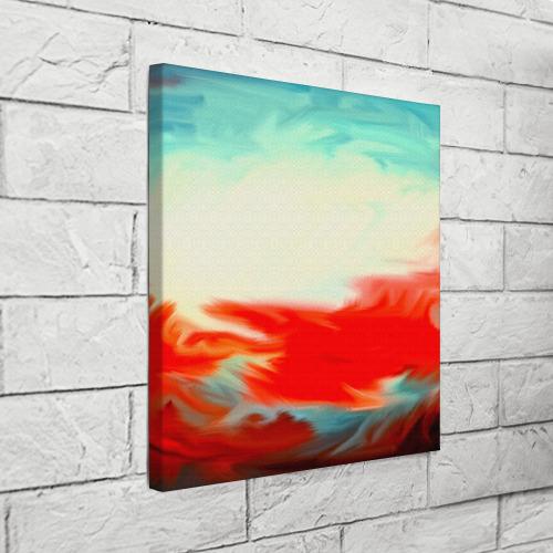 Холст квадратный  Фото 03, художественные краски
