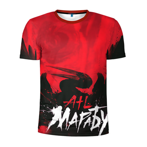 Мужская футболка 3D спортивная ATL 1