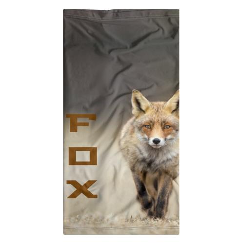 Бандана-труба 3D  Фото 07, Рыжий лис (fox)