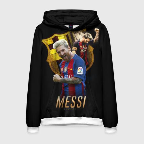 Мужская толстовка 3D Messi Фото 01