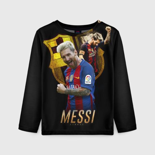 Детский лонгслив 3D Messi