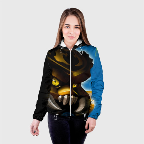 Женская куртка 3D  Фото 03, Сколдер