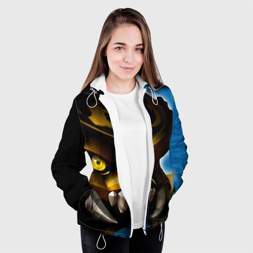 Женская куртка 3D  Фото 04, Сколдер
