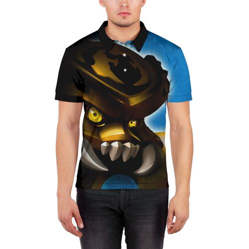 Мужская рубашка поло 3D  Фото 03, Сколдер
