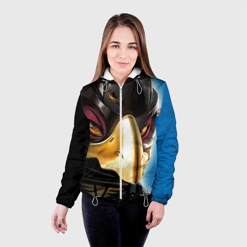 Женская куртка 3D  Фото 03, Разар