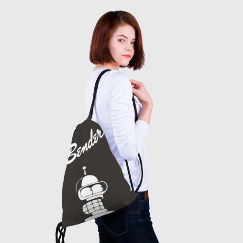 Рюкзак-мешок 3D  Фото 02, Бендер