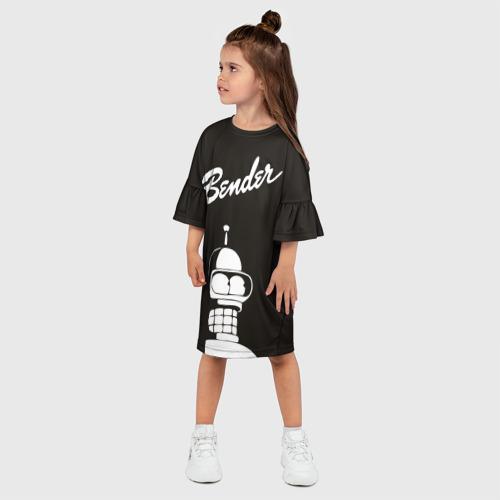 Детское платье 3D  Фото 03, Бендер