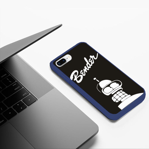 Чехол для iPhone 7Plus/8 Plus матовый Бендер Фото 01