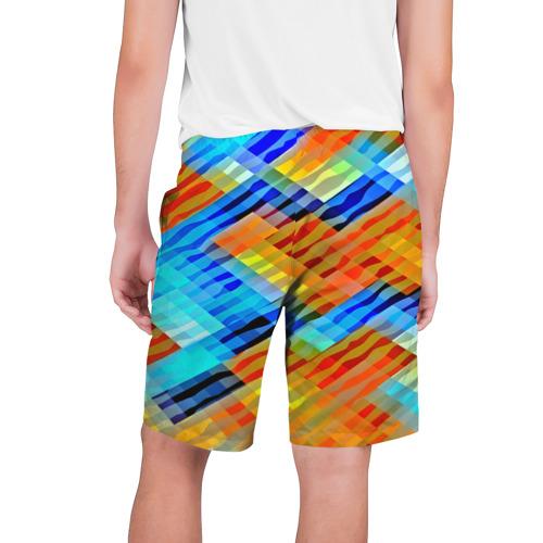 Мужские шорты 3D  Фото 02, Блестящие полосы