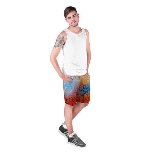Мужские шорты 3D  Фото 03, Трещины