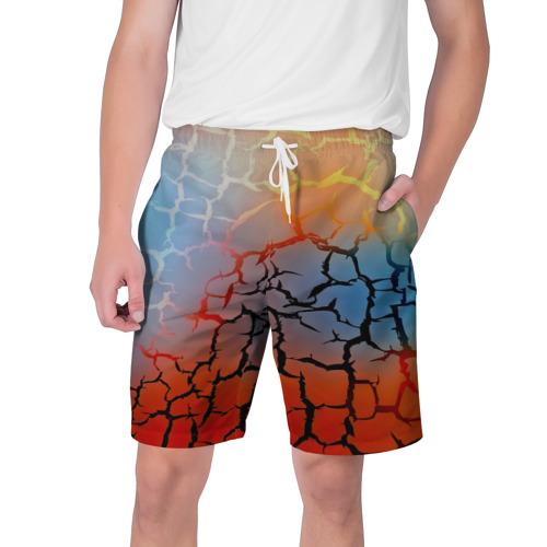 Мужские шорты 3D  Фото 01, Трещины