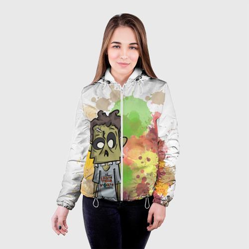 Женская куртка 3D  Фото 03, Зомби