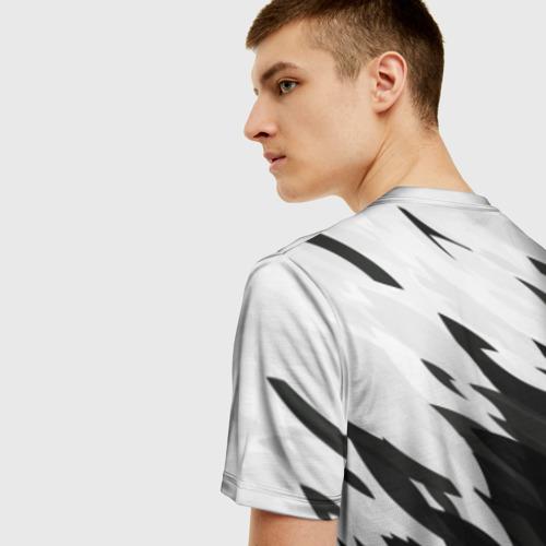 Мужская футболка 3D Black & white Фото 01