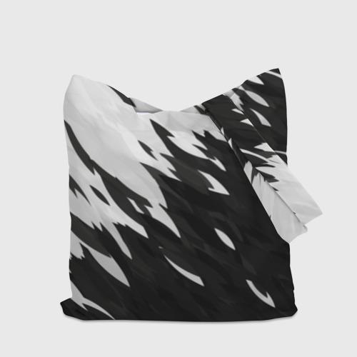 Сумка 3D повседневная Black & white Фото 01