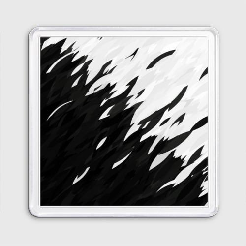 Магнит 55*55 Black & white Фото 01