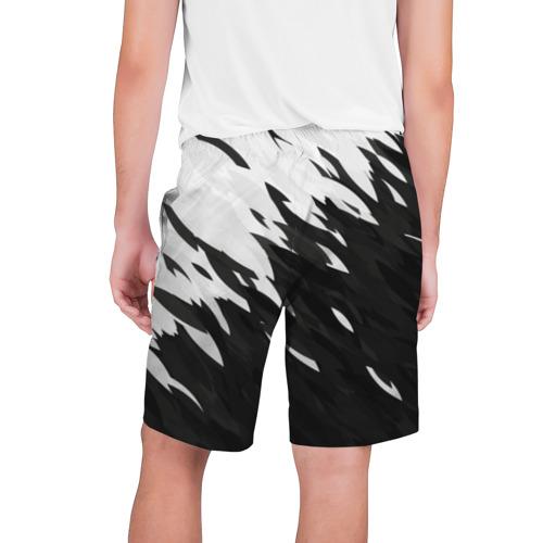 Мужские шорты 3D  Фото 02, Black & white