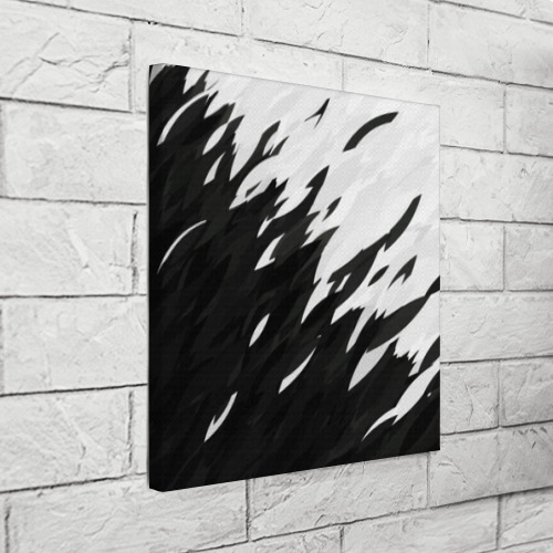 Холст квадратный Black & white Фото 01