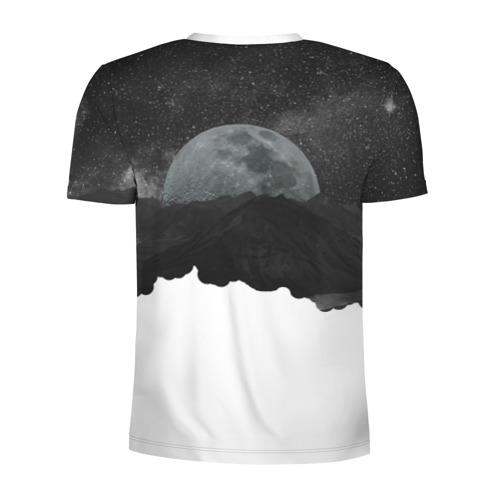 Мужская футболка 3D спортивная  Фото 02, Космос