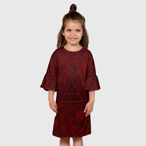 Детское платье 3D  Фото 01, 30 seconds to mars. символы