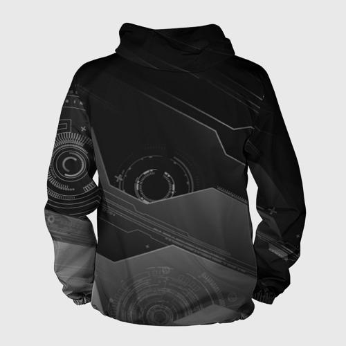 Мужская ветровка 3D  Фото 02, Tehnology future