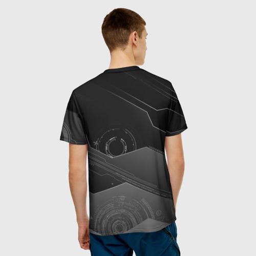 Мужская футболка 3D  Фото 02, Tehnology future