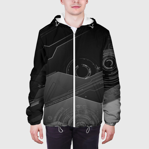 Мужская куртка 3D  Фото 04, Tehnology future