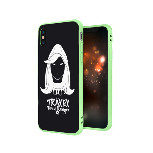 Чехол для Apple iPhone X силиконовый матовый TRAXEX Фото 01