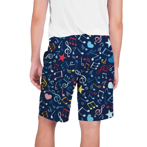 Мужские шорты 3D  Фото 02, Ноты