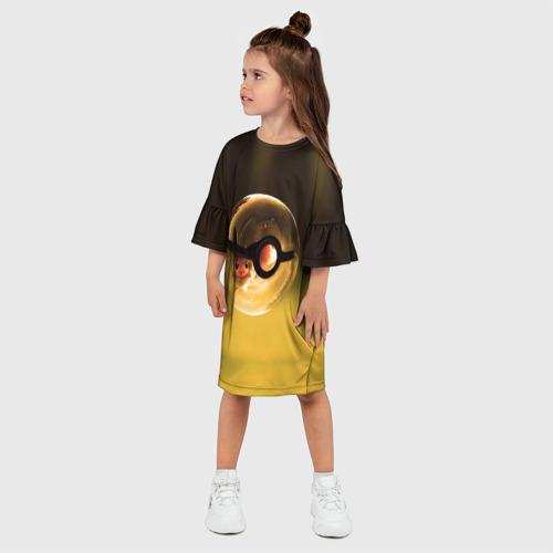 Детское платье 3D  Фото 03, Покебол