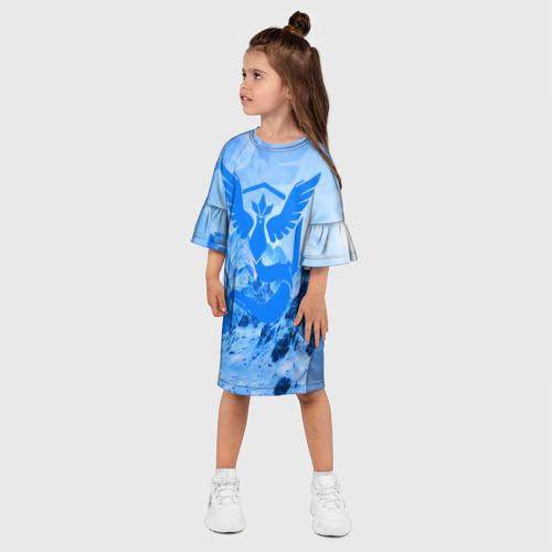 Детское платье 3D  Фото 03, Мистик
