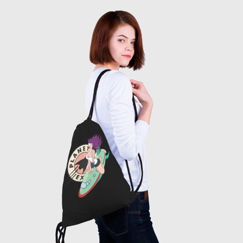 Рюкзак-мешок 3D  Фото 02, Лила