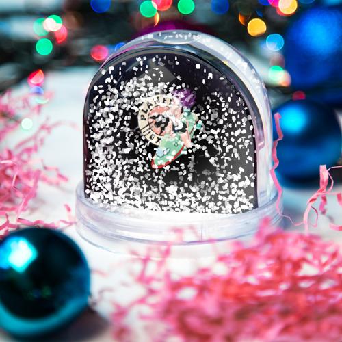 Водяной шар со снегом  Фото 04, Лила