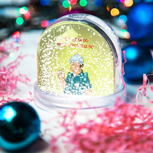 Водяной шар со снегом  Фото 04, Работа