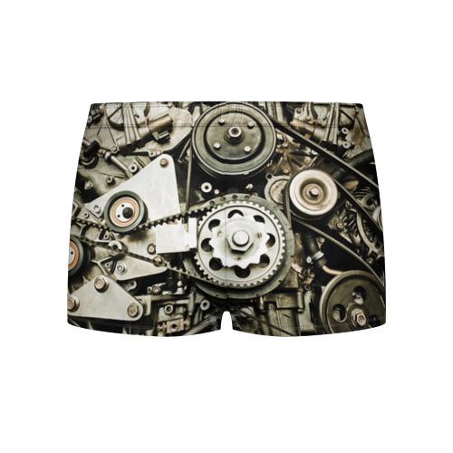 Мужские трусы 3D  Фото 02, Двигатель