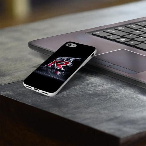 Чехол для Apple iPhone 8 силиконовый глянцевый  Фото 03, Nissan Gtr