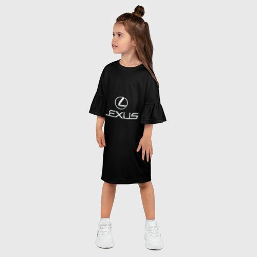 Детское платье 3D  Фото 03, lexus