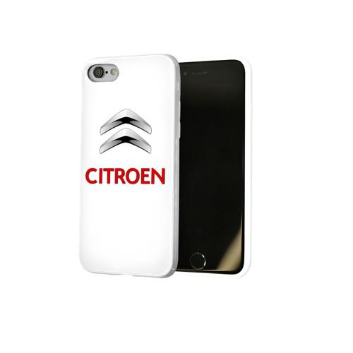 Чехол для Apple iPhone 8 силиконовый глянцевый  Фото 02, Сitroen