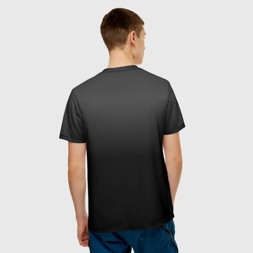Мужская футболка 3D  Фото 02, КамАЗ