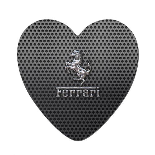 Магнит виниловый сердце  Фото 01, Ferrari
