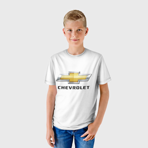 Детская футболка 3D  Фото 01, Chevrolet