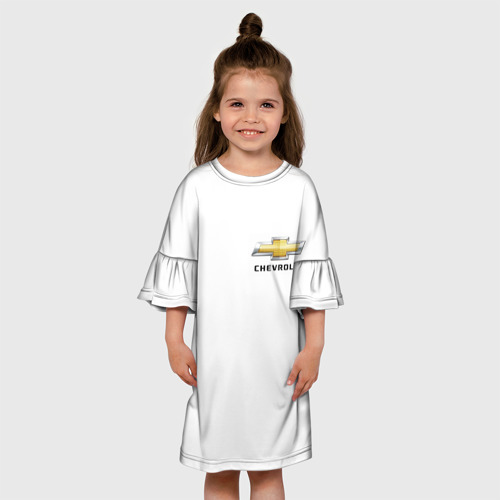Детское платье 3D  Фото 01, Chevrolet