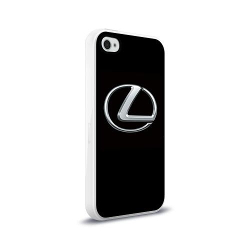 Чехол для Apple iPhone 4/4S силиконовый глянцевый Lexus Фото 01