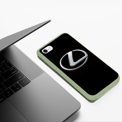 Чехол для iPhone 6Plus/6S Plus матовый Lexus Фото 01
