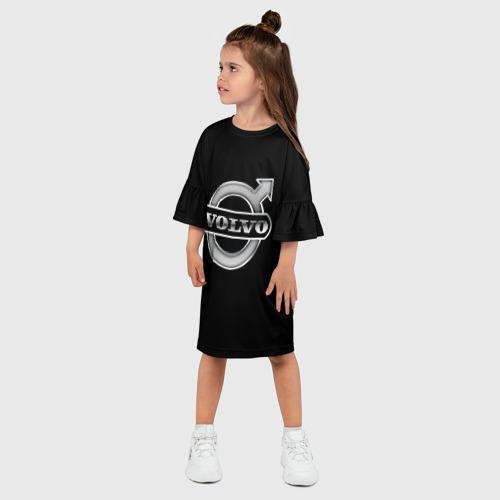 Детское платье 3D  Фото 03, Volvo