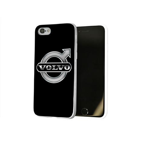 Чехол для Apple iPhone 8 силиконовый глянцевый  Фото 02, Volvo